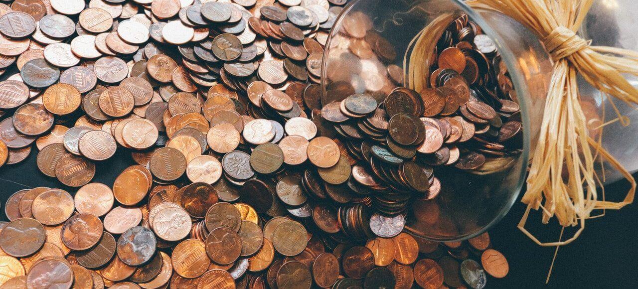 Pieniądze w skarbonce