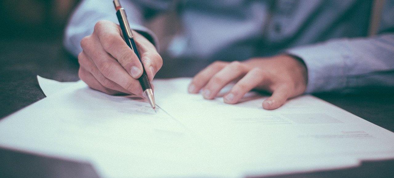 Podpisanie dokumentów